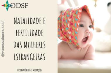 [info PT] Natalidade e fertilidade das mulheres estrangeiras