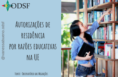 [info PT] Autorizações de residência por razões educativas na EU