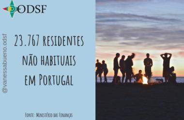 [info PT] 23.767 residentes não habituais em Portugal