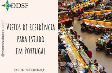 [info PT] Vistos de residência para estudo em Portugal