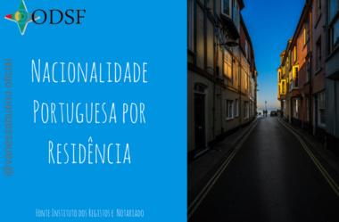 [info PT] Nacionalidade portuguesa por residência