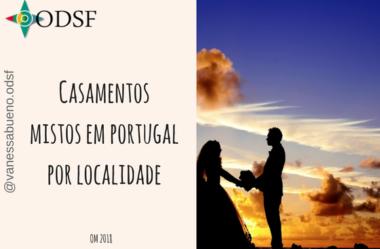 [info PT] Casamentos mistos prevalecem no litoral e Sul de Portugal