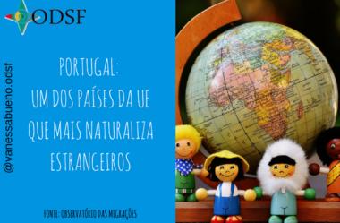 [info PT] Portugal: um dos países da UE que mais naturaliza estrangeiros