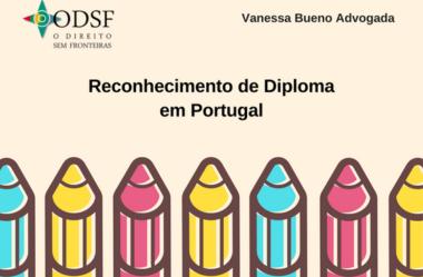 [info PT] Reconhecimento de diploma em Portugal