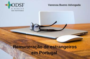 [info PT] Remuneração de estrangeiros em Portugal