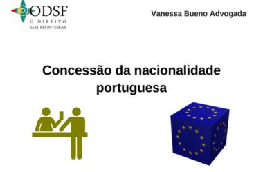 [info PT] Concessão da nacionalidade portuguesa