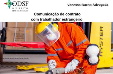[info PT] Comunicação de contrato com trabalhador estrangeiro