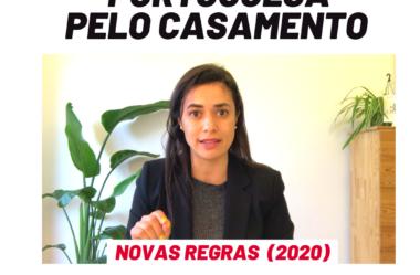 [vídeo] Nacionalidade portuguesa pelo casamento: novas regras 2020